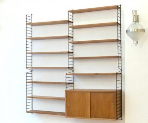 String bookshelves