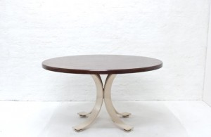 Dining table, Italy, Borsani-style