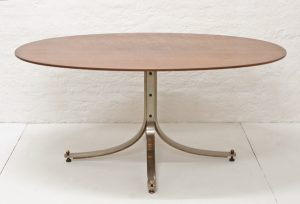 Oval-dining-table-Sergio-Mazza-Arflex-1962