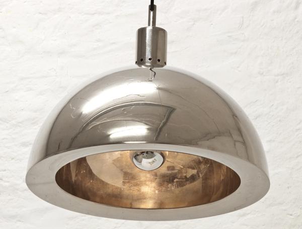 Italian-nickel-pendant-lamp-1960