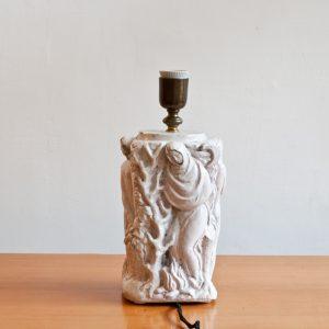 Italian-ceramic-4seasons-table-lamp-1940-1950