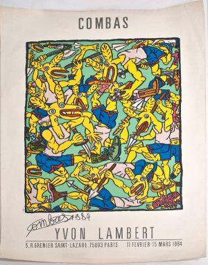 Robert-Combas-1984-signed
