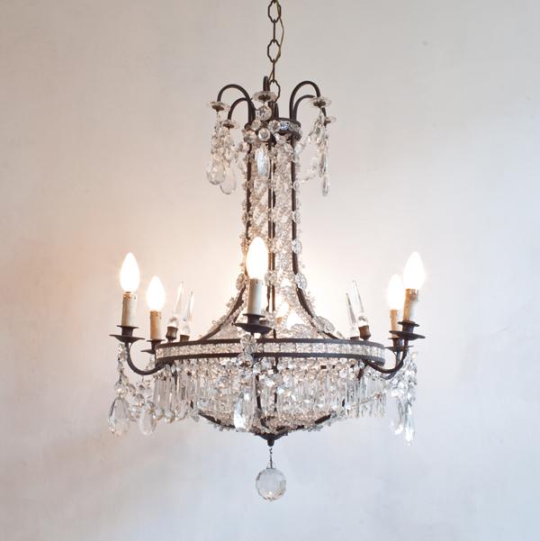 Mid-Century-Italian-crystal-Chandelier